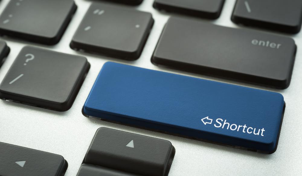 Desktop shortcuts